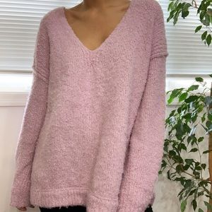 URBAN OUTFITTERS oversized furry sweater
